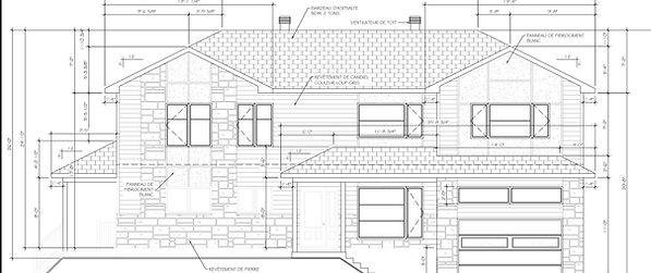 Exemple de plan de construction