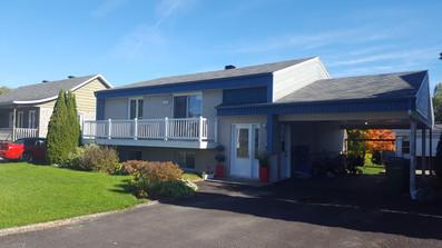 Extension d'étage d'une maison - Québec