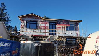 Agrandissement de maison en bois- Québec