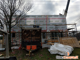 RénoConstrux Agrandissement Bungalow-  Ville de Québec