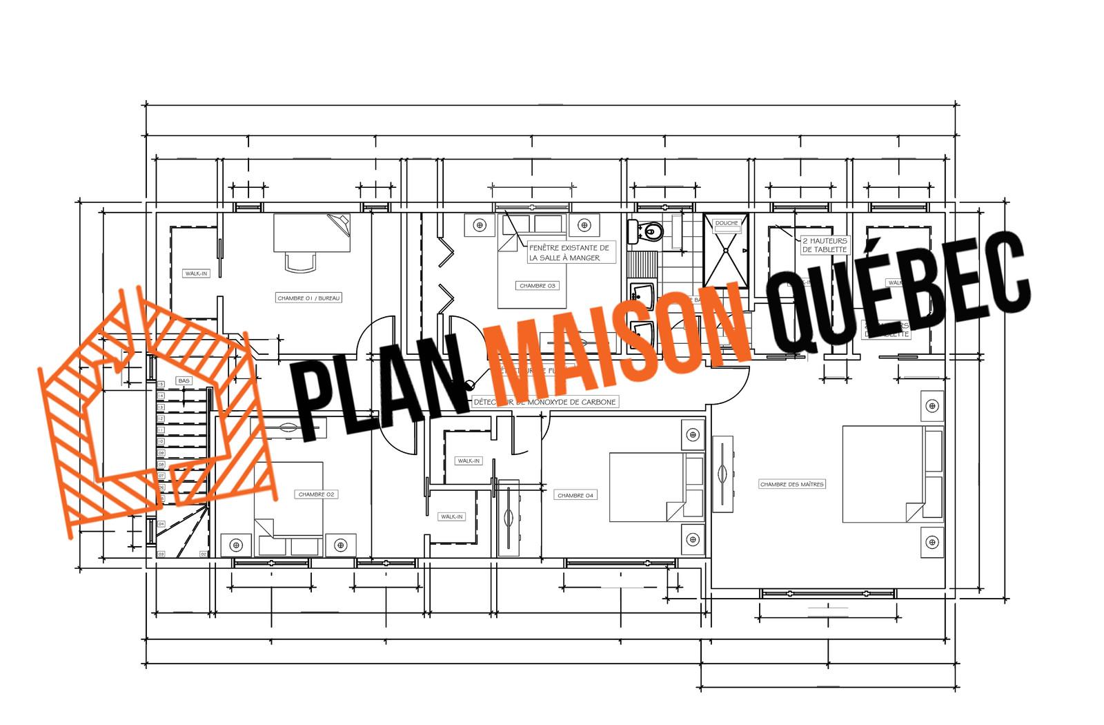 Plan maison qu bec plan de construction salle de bain for Concevoir un plan de maison