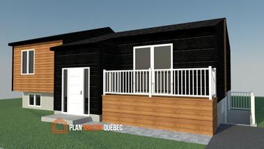 Plan Maison Québec - Plan de maison visuel 3D - Québec