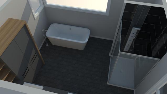 Plan Maison Québec - Design de salle de bain- Québec