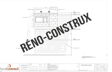 Extension maison toit plat -  Secteur Limoilou,Québec