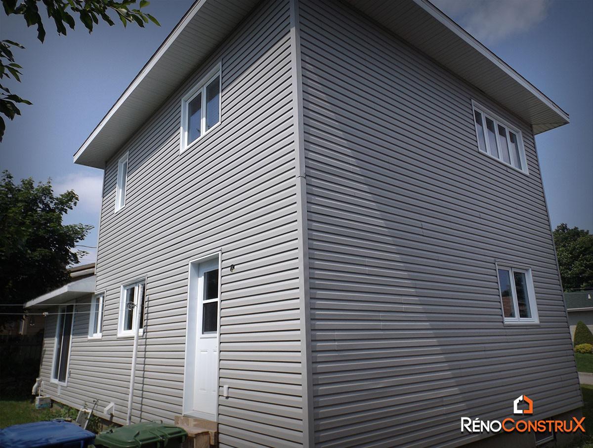 extension d 39 une maison ville de qu bec r no construx ajout d 39 tage agrandissement. Black Bedroom Furniture Sets. Home Design Ideas