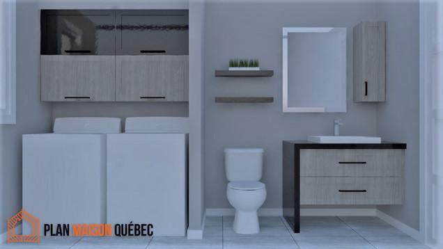 Plan Maison Québec -Perspective 3D de maison -Partout au Québec