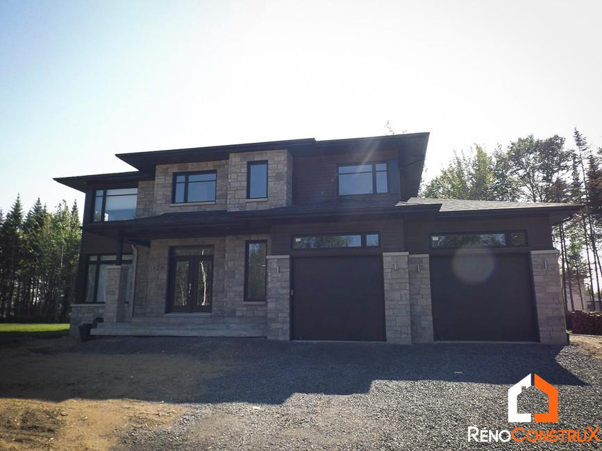 Construction maison neuve Québec