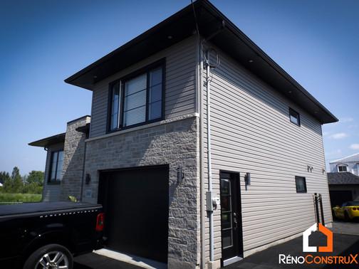 Transformation maison - Beauport, Québec