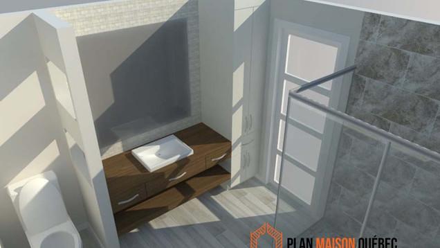 Plan Maison Québec -Plan de construction - Cuisine  - Québec
