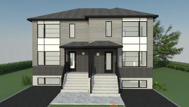 Plan Maison Québec - Rendu 3D de maison - Québec