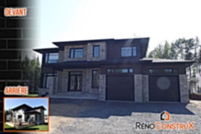 Constructin de structure de maison - Entrepreneur Quebec