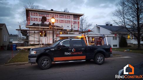 Extension en bois - Blainville,Québec