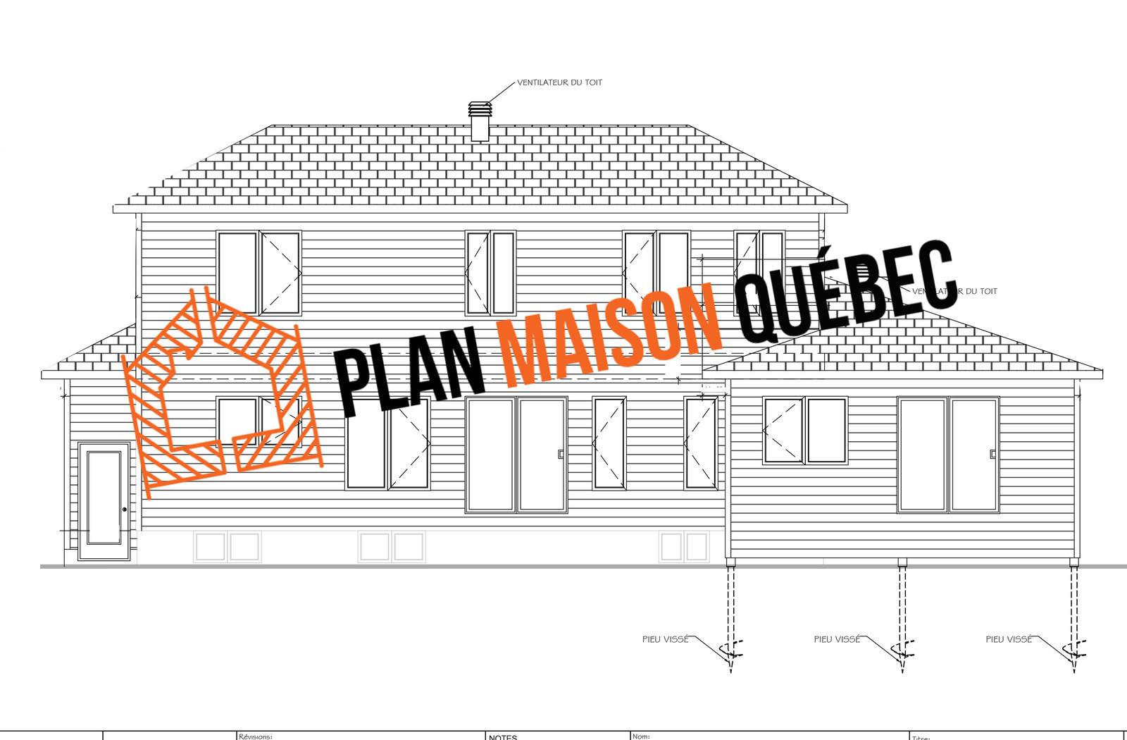 Plan maison qu bec design de cuisine qu bec - Plan de maison quebec ...