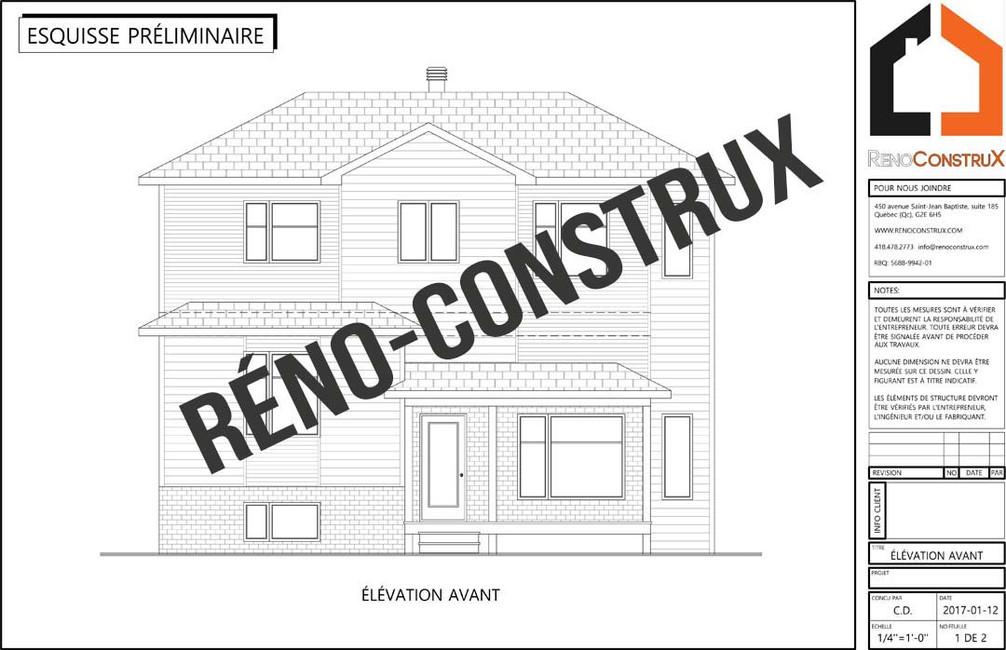 Rénoconstrux- 2ieme etage- ville de Québec