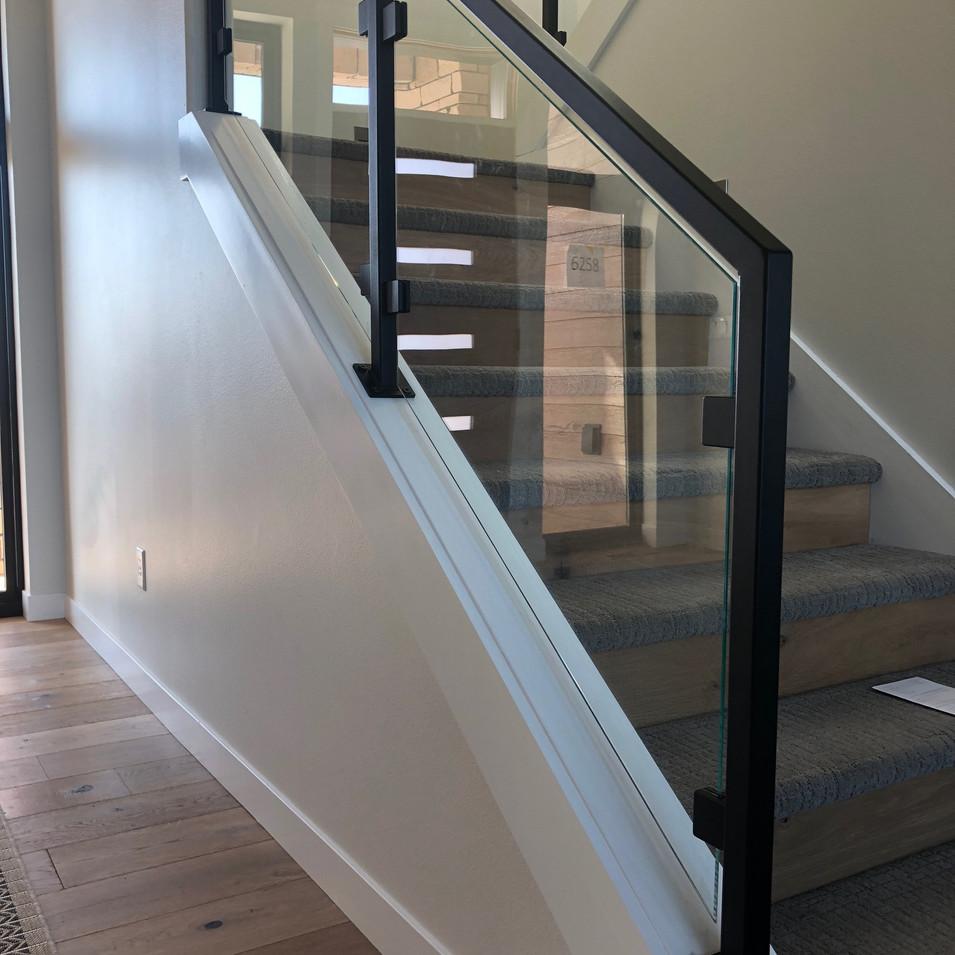 Glass Metal Stair railing.JPG