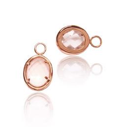 Kunzite earrings drops