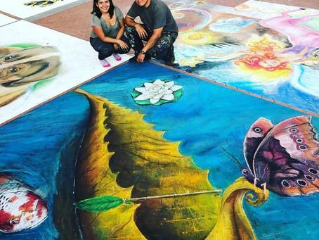 Chalk Art in Fort Worth