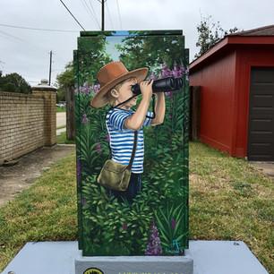 Up Art Studio/ Mini Murals White Oak