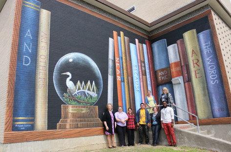 Sterling Municipal Library Mural 2018