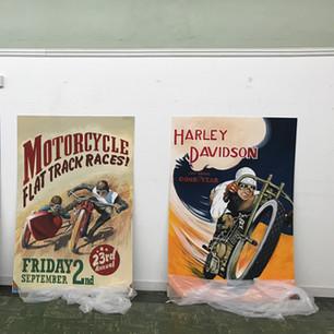 Vintage poster replicas