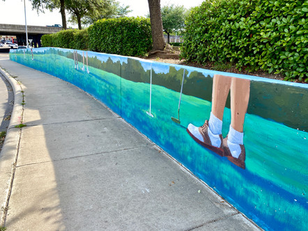 Mural for East End Management District