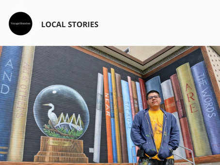 Recent Interview with  Voyage Houston Magazine