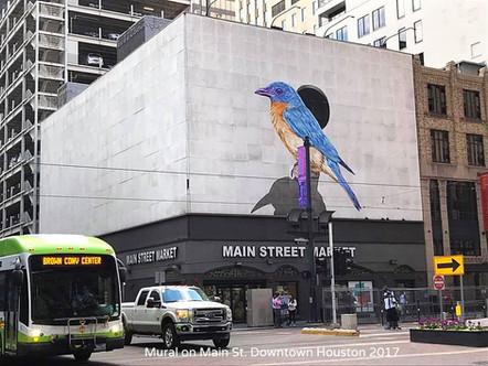 Mural for City of Houston