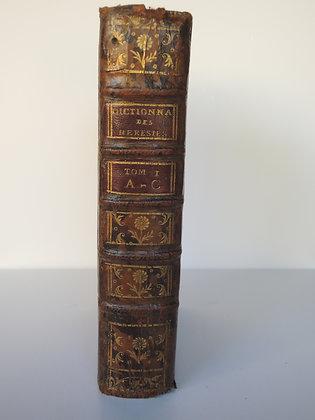 PLUQUET  /  Dictionnaire des hérésies