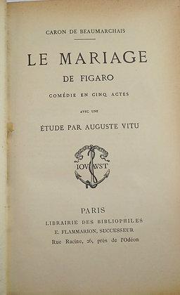 BEAUMARCHAIS  / Le mariage de Figaro, Le Barbier de Seville