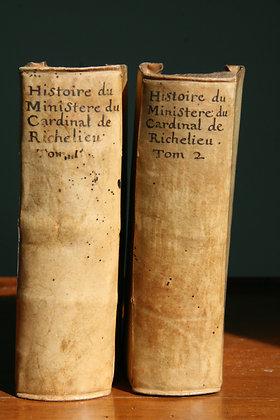 VIALART / Histoire du Ministère du Cardinal de Richelieu