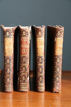 VOLTAIRE  / Romans et contes de Voltaire (4 vol)
