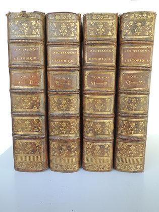 CHAUDON  /  Dictionnaire historique portatif