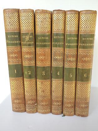 A.F de BERTRAND MOLEVILLE Histoire d'Angleterre