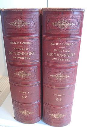 LACHATRE / nouveau dictionnaire universel