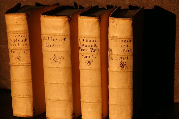 Thomas d'Aquin  /  4 volumes