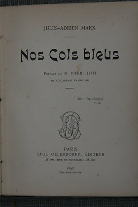 MARX / Nos cols bleus