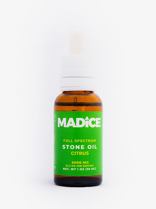 MADICE Stone Oil (Citrus) - 2000mg