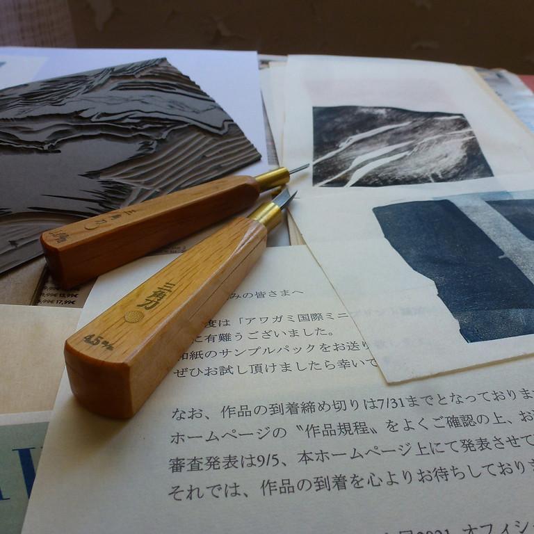 Nouveau ! Atelier gravure !