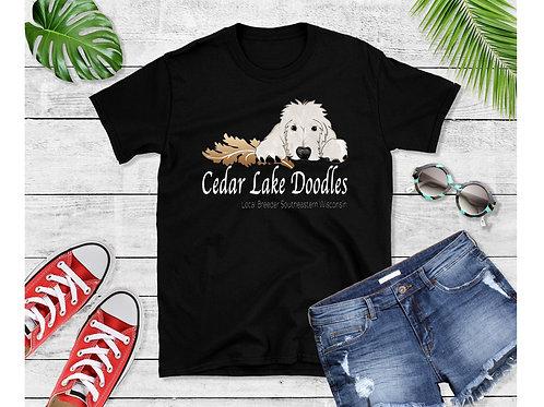 Cedar Lake Doodle Black T Shirt