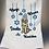 Thumbnail: Hanukkah Doodle Kitchen Towel
