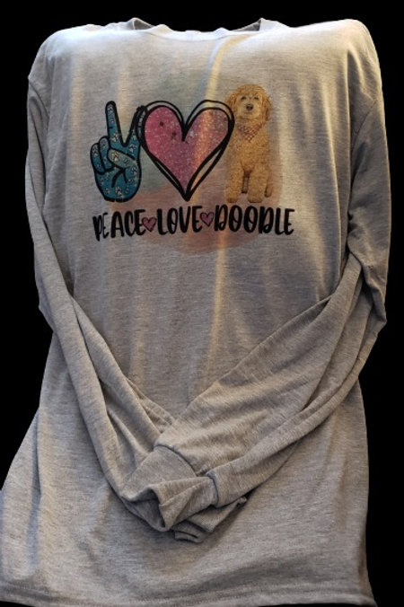 Peace Love Doodle Shirt
