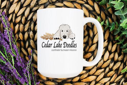 Cedar Lake DoodlesCoffee Mug