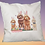 Thumbnail: Easter Doodle Throw Accent Pillow