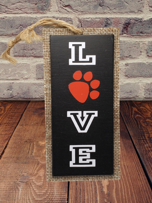 Puppy Love small wall hanging
