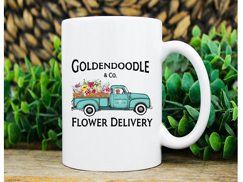 Summer Doodle Coffee Mug