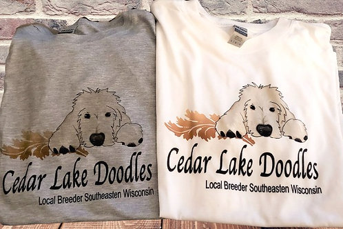 Cedar Lake Doodles Crew Neck T shirt