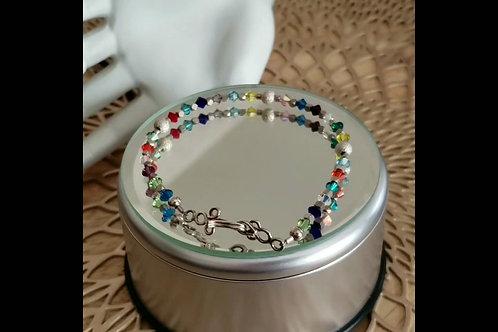 Swarovski Crystal accent bracelet