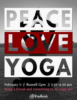 Peace Love Yoga Event