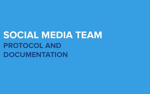 Social Media Team Protocol PPT