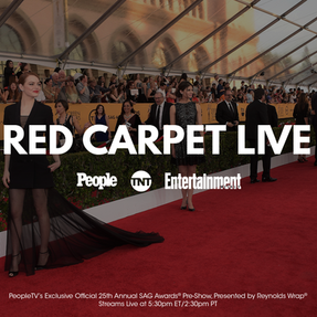 Red Carpet Live Graphic